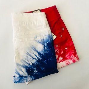 No Boundaries Shorts - No Boundaries Patriotic Shorts